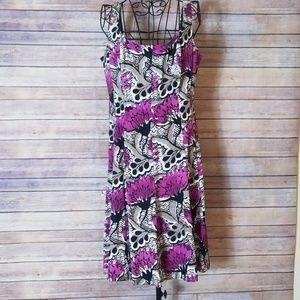 Nine West purple sleeveless size 14 dress